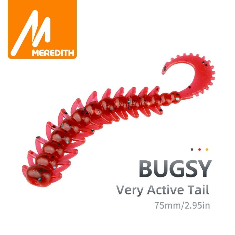50pcs//lot  T tail Soft Bait Worm 5cm 0.7g Wobber Jigging Silicone Baits Leurre s