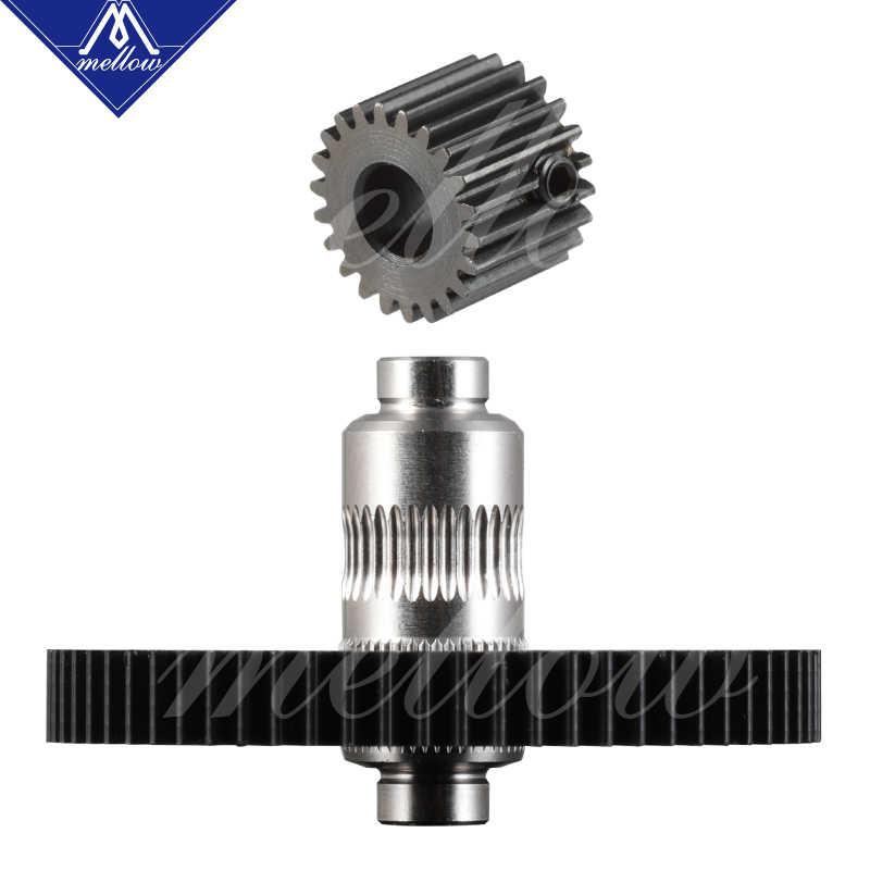 Gratis Pengiriman 3D Printer Bagian Titan Aero V6 Hotend Extruder Penuh Kit/Gunung Berapi Nozzle Kit untuk Desktop RepRap MK8 I3 tevo Anet