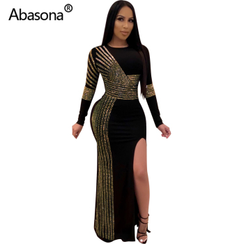 2020 Women Summer Long Bodycon Dress Hot Drilling Crystal Diamonds Rhinestone Sexy Club Party Night Bandage Maxi Dress Plus Size 1