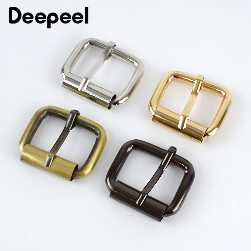 5/10/20pcs 25mm Metal Buckle For Bag Belt Strap Web Adjust Roller Pin Buckle Snap Rectangle Leather Craft Repair DIY Accessories
