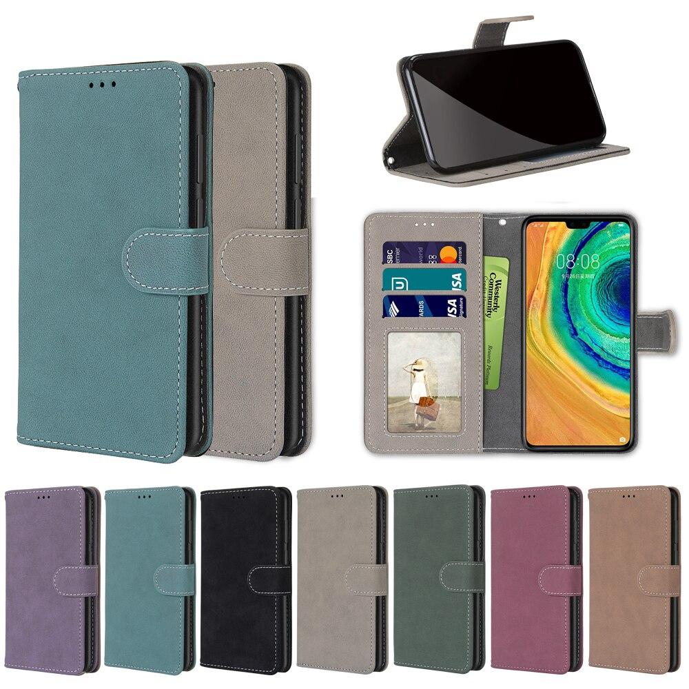 Flip Fall Für Meizu M8 V8 Pro Fall Matte Leder Brieftasche Stand Halten Abdeckung Für Meizu X8 M8 Telefon Funda luxus Plain Buch Capa Tasche