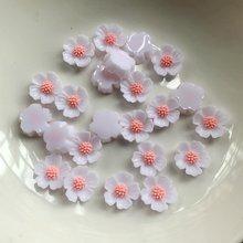 60 шт декоративные цветы из смолы