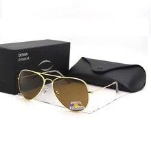 brand sunglasses driving aviation polarized sunglas