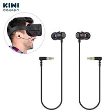 קיווי עיצוב 1 זוג אוזניות אוזניות עבור צוהר Quest 1 VR אוזניות רעש בידוד בתוך אוזן אוזניות עם 3D 360 תואר צלילים