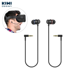 Стереонаушники KIWI design, наушники для Oculus Quest VR гарнитура (черный, 1 пара)