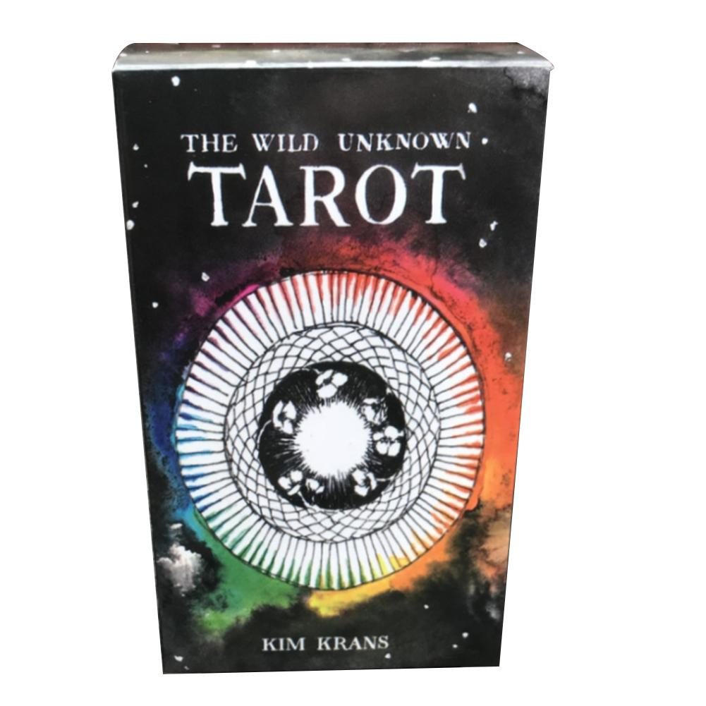 78 Pcs The Wild Unknown Tarot Cards Tarot Deck For Fun Game Table Card Games Lovers Game Card Family Holiday Party Playing Cards