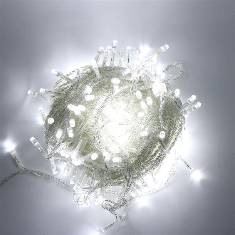 10M 100LEDs US Plug 110V String Lights Fairy Garland Waterproof Decorative LED Lighting For Festival Street Outdoor Garden House
