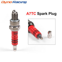 1PCS Spark Plug A7TC For GY6 50cc 70cc 150cc Moped ATV Scooter Dirt Bike Go Kart(China)