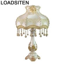 Lampe Art Lampada Comodino Lamp Noel Home Abajur Quarto Para El Dormitorio Lampara De Mesa Deco Maison Table Bedside Light