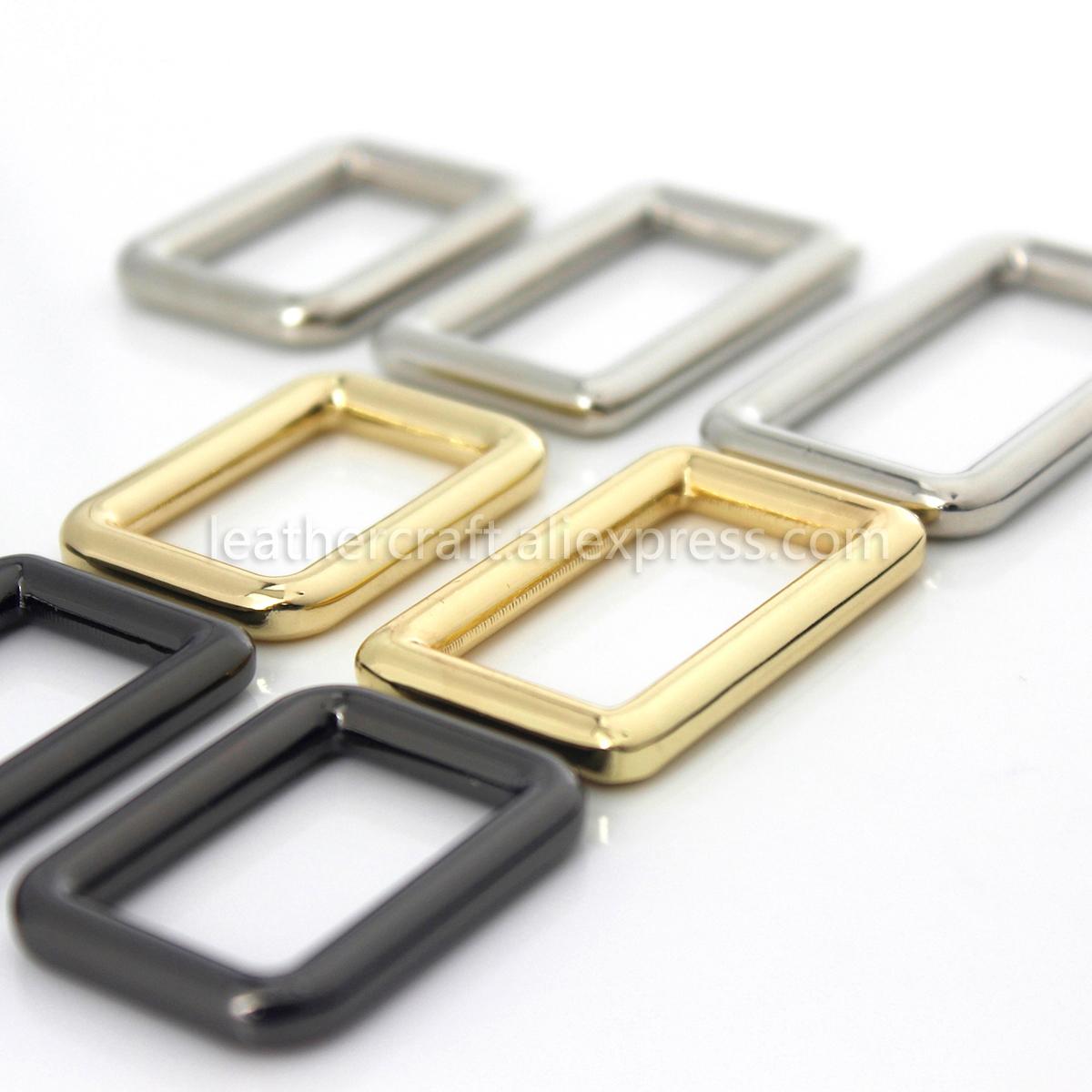 Silver, 20mm//3//4Inch Shapenty Metal Rectangle Loop Ring Webbing Belt Buckles for Bags Making Backpack Handbag Strap Purse Leatherwork Sewing Luggage DIY Craft 15PCS