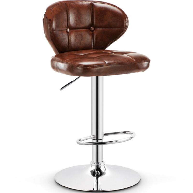 Chaise de Bar minimaliste moderne Taburete ascenseur chaise de Bar Tabouret haut Table de Bar et chaises PU chaise de maison Tabouret haut Tabouret