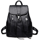 Leather Backpack Wom...