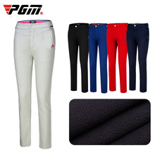 Manufacturers direct sales of PGM velveted golf pants, skinn