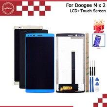 Ocolor doogee ミックス 2 lcd ディスプレイとタッチ画面 5.99 インチ doogee ミックス 2 電話アクセサリーツールと粘着 + フィルム
