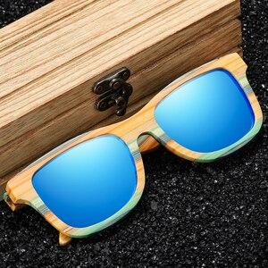 Image 2 - Женские и мужские солнцезащитные очки GM, поляризационные деревянные очки для скейтборда, UV400