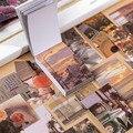 50 Sheets Nette Reise Aufkleber Ins Stil Aufkleber Dekorative Aufkleber Tagebuch Scrapbooking Flakes Label Schreibwaren
