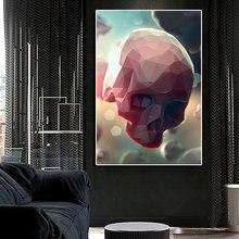 Настенные украшения для гостиной абстрактные Розовые постеры