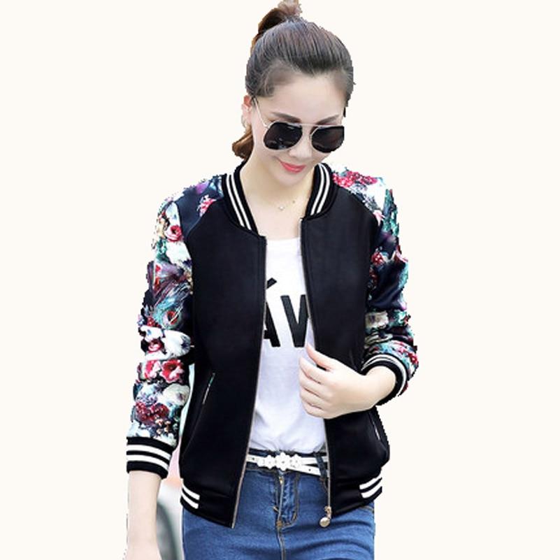 Spring Autumn Women coat Black Slim Cool Lady warm   Jacket   Female Zipper Outwear big Size Coat Long Sleeve   Basic     Jacket   M-3XL