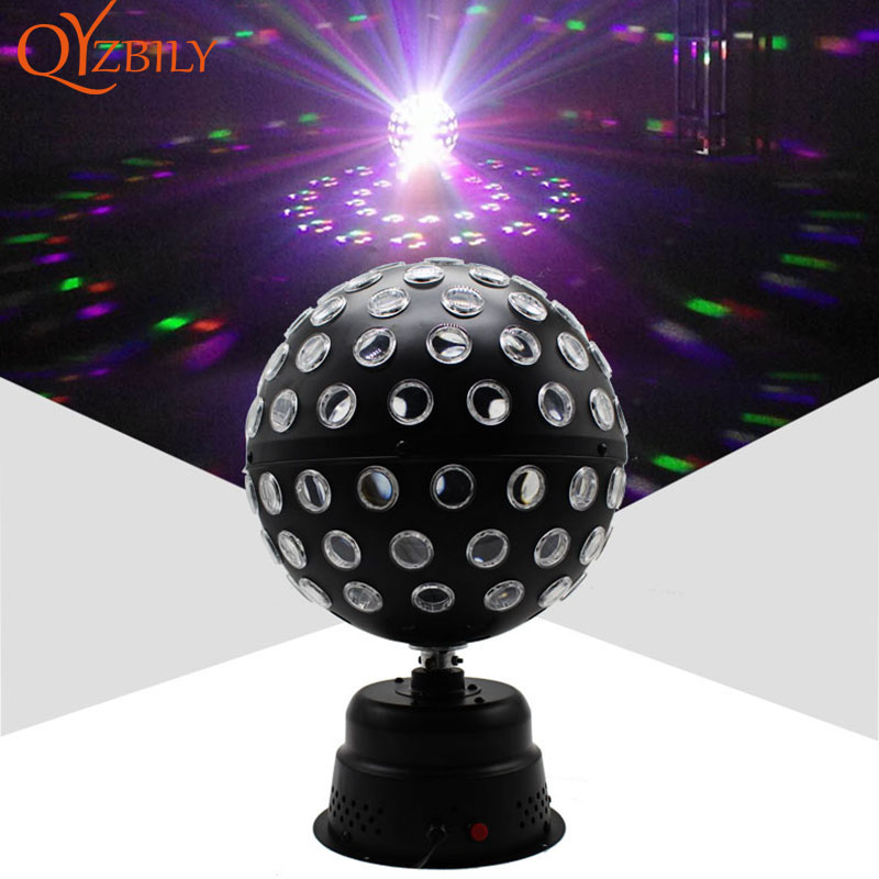 DMX Stage Light 9 Colors Crystal Magic Ball light 30W Remote control Disco Laser Light Party Lights Lumiere Laser moving head