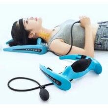 Il nuovo apparato di trazione cervicale gonfiabile di correzione per uso domestico collare al collo e collo barella un dolore al collo