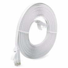 Network Cable Universal 1/3/5/10M Super Long RJ45  Super High Speed Flat Type Ethernet Network Cable LAN Ethernet Cable towards ultra high speed online network traffic classification