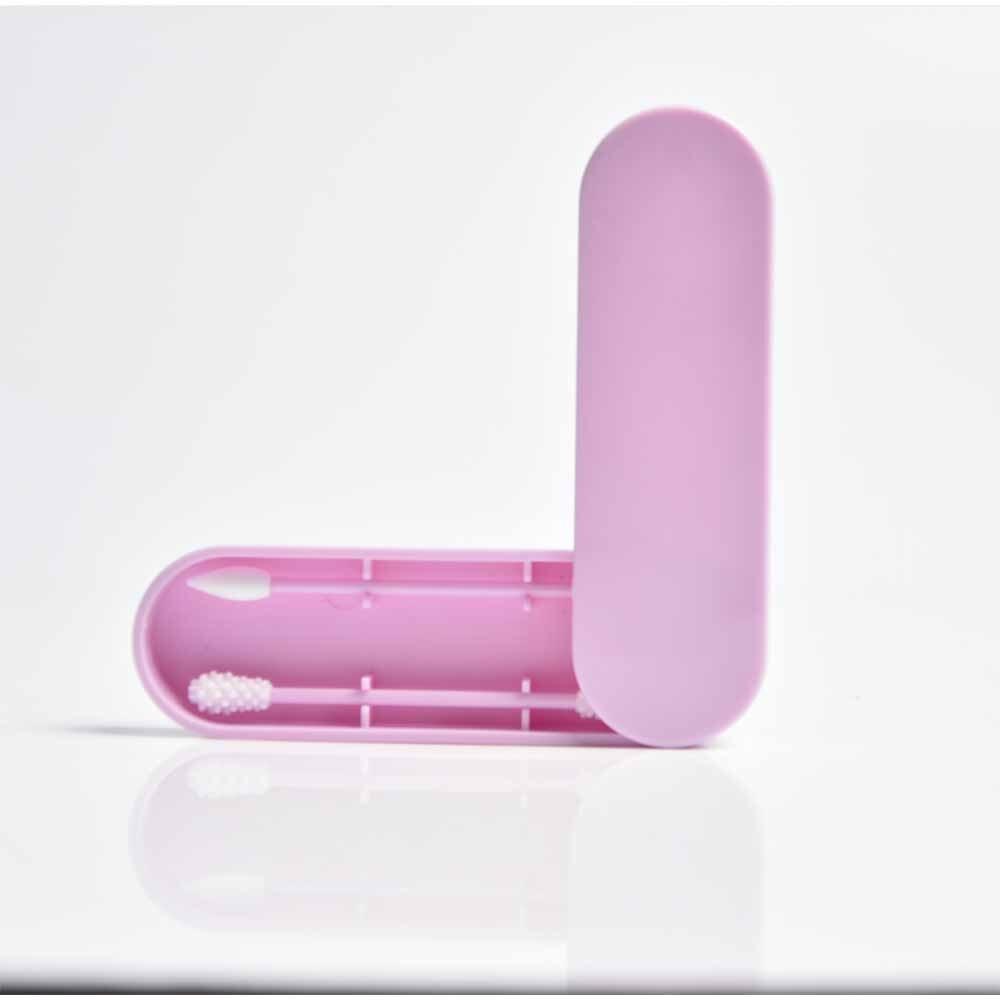 2 шт./кор. многоразовые ватный тампон для чистки ушей силиконовые моющиеся макияж тампоны палочки мягкий гибкий Make Up набор инструментов для дропшиппинг