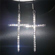 Женские Китая по оптовым ценам из циркона подвеска в форме Креста