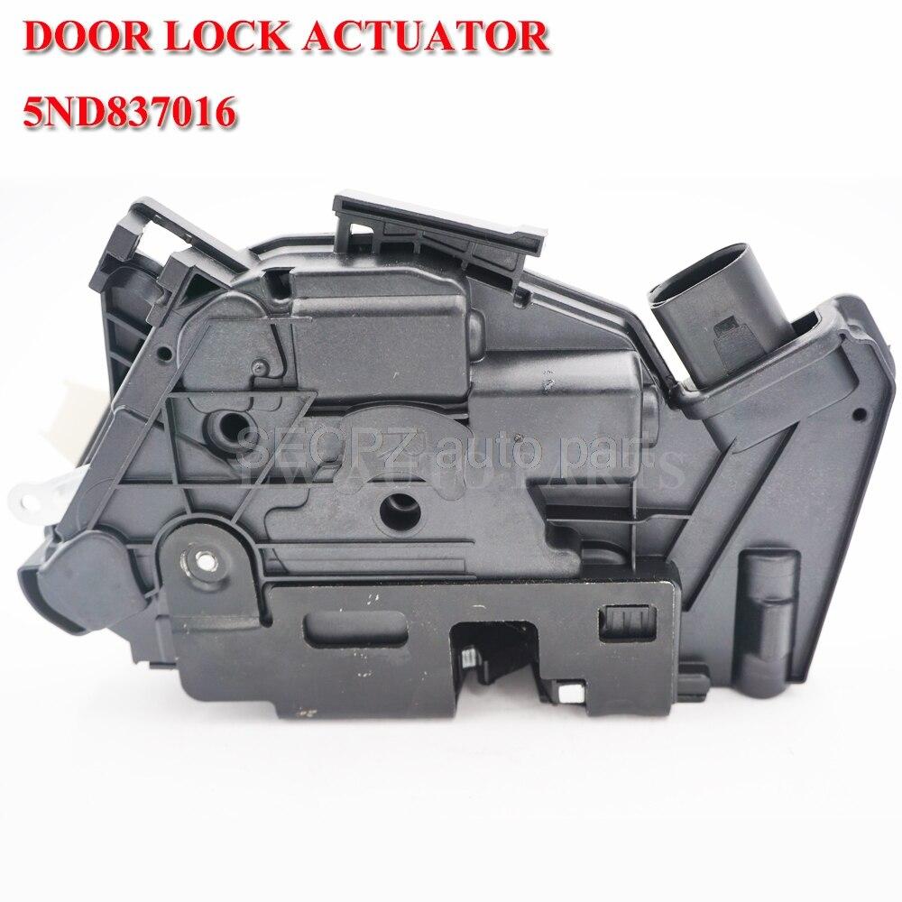 Автомобильная защелка дверной замок привод передний правый для VW Passat cc Tiguan Amarok для Skoda Fabia Superb 5ND837016A