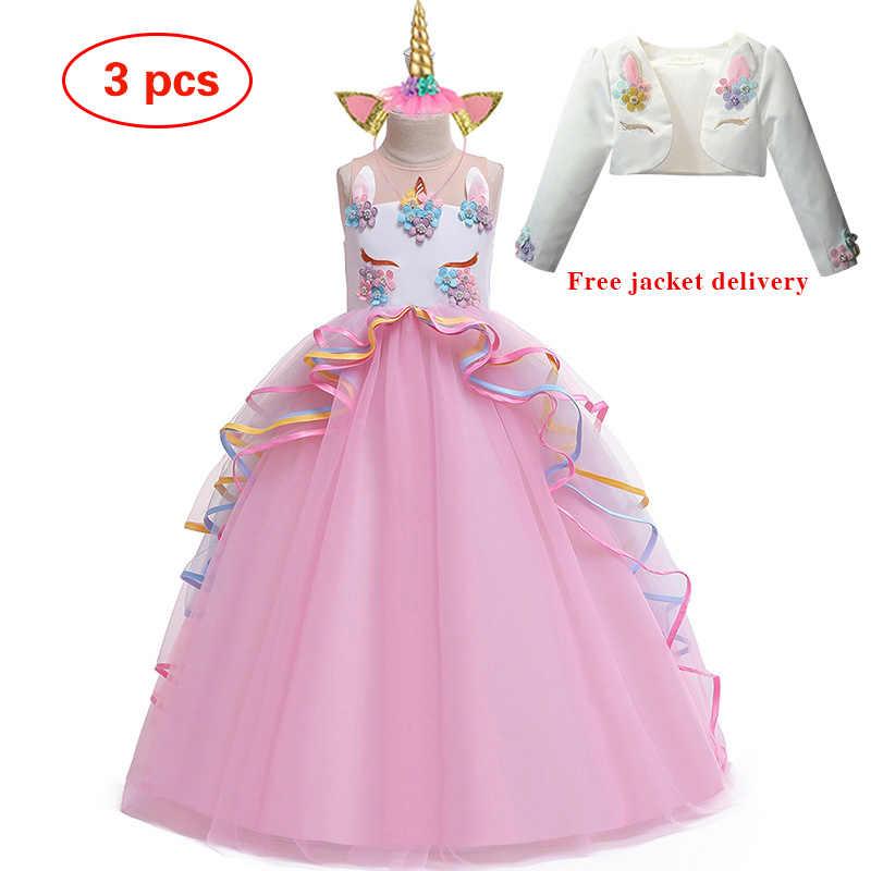 4-14Y nastolatek dziewczyny Dresse na urodziny s dzieci Party suknia księżniczka druhna dzieci Tutu sukienka ubrania świąteczne