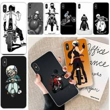 Cool Biker motorcycle Customer High Quality Phone Case For iphone 6 6s plus 7 8 plus X XS XR XS MAX 11 11 pro 11 Pro Max Cover lovebay geometri customer high quality phone case for iphone 6 6s plus 7 8 plus x xs xr xs max 11 11 pro 11 pro max cover