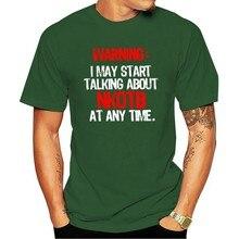 Das Mulheres Dos Homens T engraçado Novidade Aviso Eu Posso começar UM Falar Sobre Nkotb UM Momento Legal Qualquér 2021 T-shirt