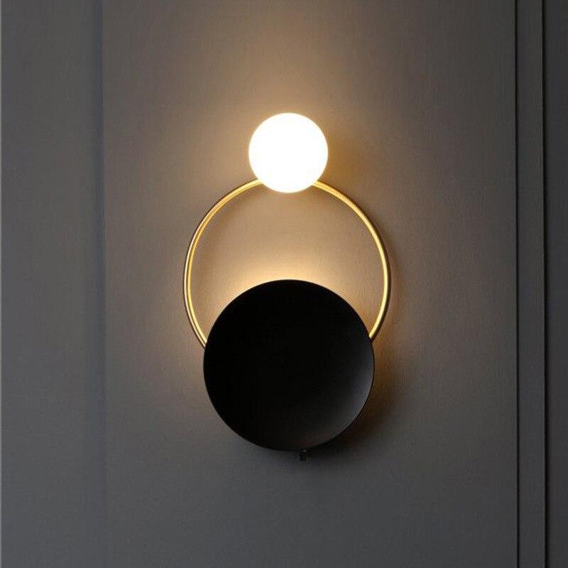 Japan deco maison luminaria iron bedroom  living room  bedside lampara pared monkey lamp