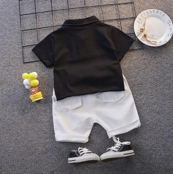 Pakaian Set Musim Panas Anak Lengan dan Celana Pendek 2