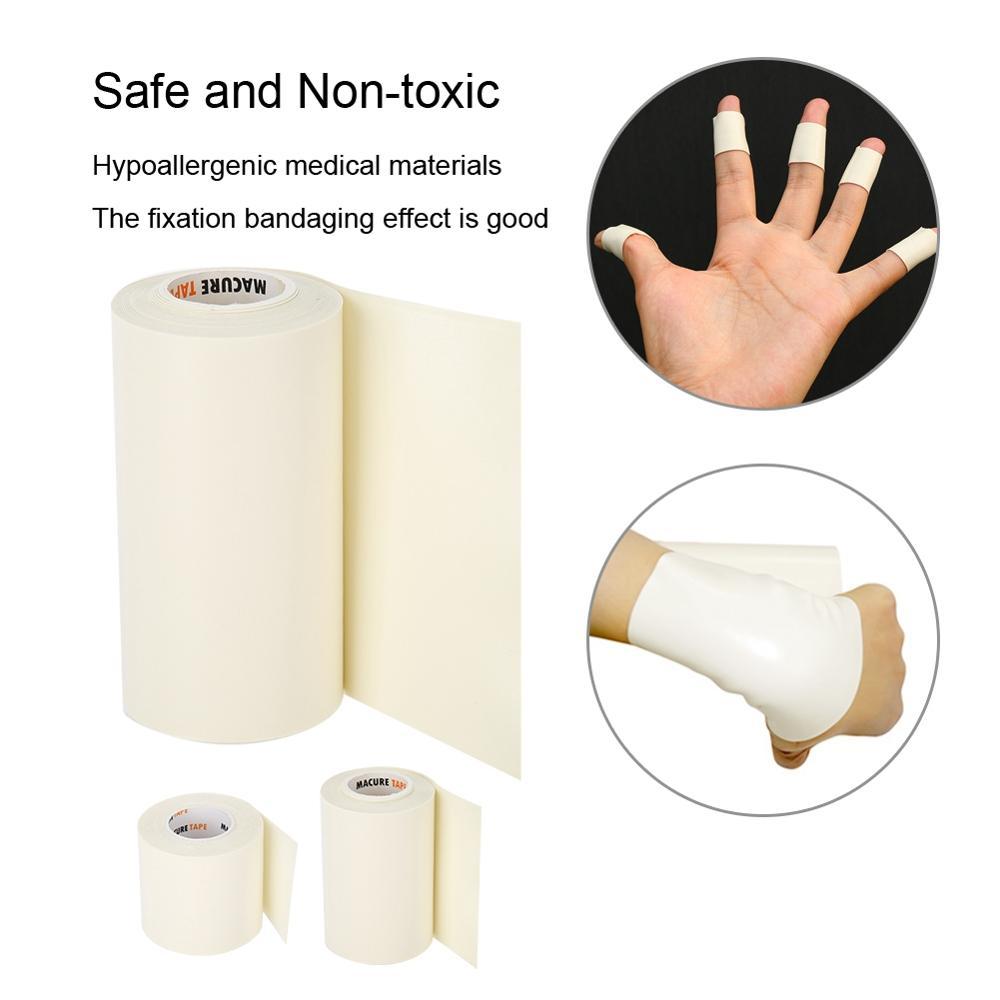 5/7.5/10cm*3m Microfoam Adhesive Foam First Aid Waterproof Tape Adjust Sports Adhesive Foam Underwrap Medical Sports Fixed Tapes