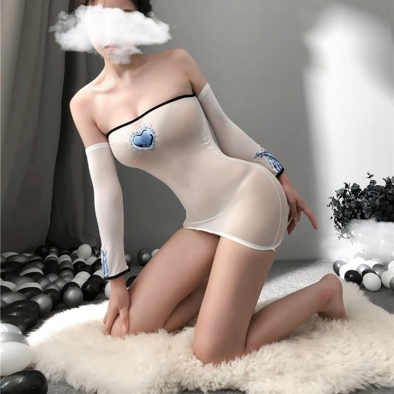 Hb56ca222031444ee8d4b513441e4c7ede sexy lingerie porno hot women's underwear sex toys erotic costumes intimate nightgown Elastic dresses sleepwear slips kimino