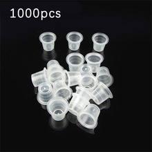 1000 шт/маленький размер белые колпачки для тату чернил блока