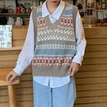 Новинка, весенне-осенний свитер, жилет для женщин, без рукавов, v-образный вырез, вязаный жилет, Женский Повседневный Топ на бретелях, пуловер, большие размеры для девушек