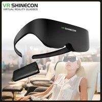 2021 occhiali 3D IMAX Pro realtà virtuale VR AR occhiali Shinecon 4K VR cuffie AI08 schermo gigante cinema stereo per Android Apple