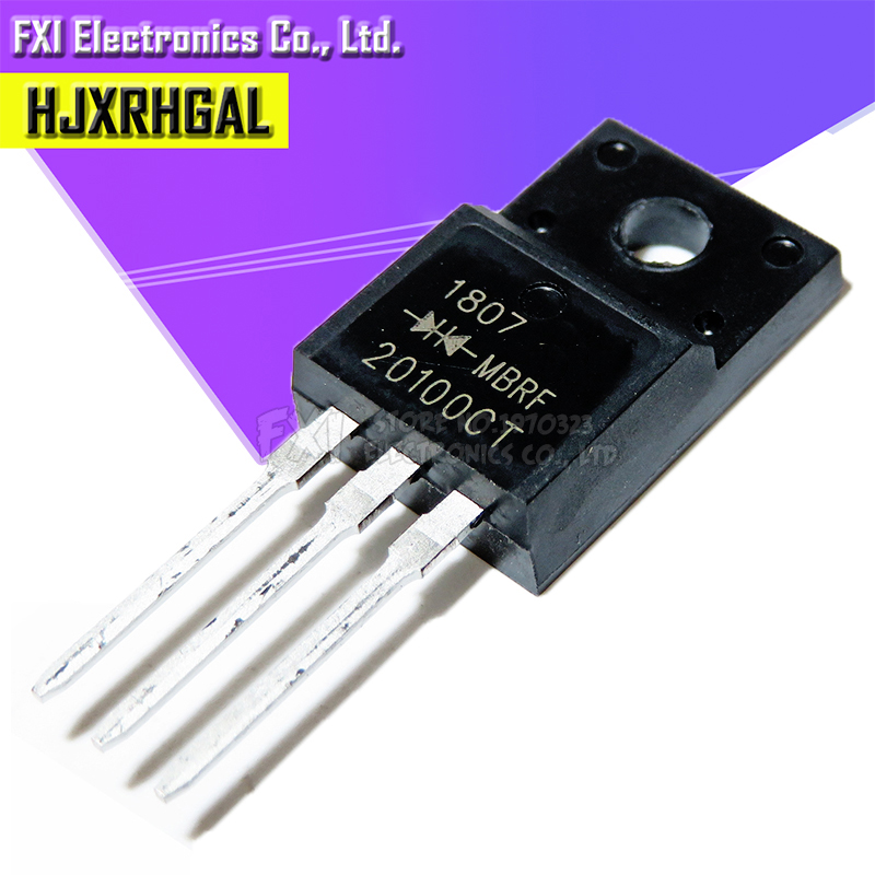 10PCS TO-220F MBRF20100CT SCHOTTKY DIODE MBR20100CT 20100CT
