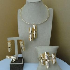 Image 5 - Ювелирные изделия Yuminglai уникальный африканский дизайн, модные ювелирные украшения, модель FHK7471