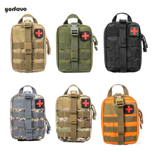 Portable Military First Aid bag Emergency Case Tactical Waist Pack Camping Climbing Bag Outdoor Bag Water Resistant For Hiking