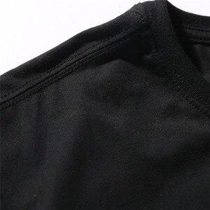 Image 5 - Bebovizi t shirt manches courtes homme, Streetwear de Style japonais Ukiyo E, humoristique, chat samouraï et Hip Hop, avec broderie