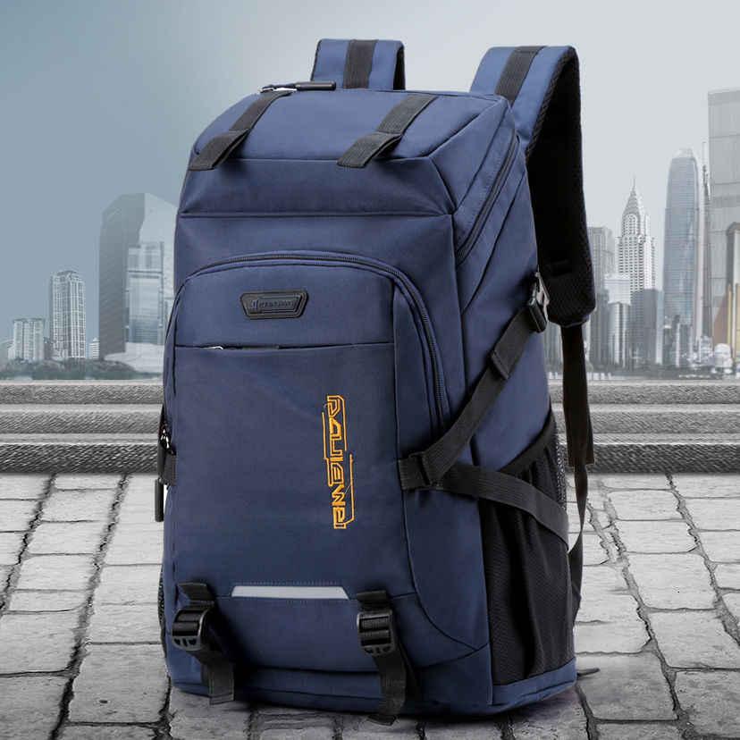 Bolsos de viaje para hombre, mochila de hombro, bolsa de lona, bolsas de equipaje para mujer, bolsa de fin de semana, bolsa deportiva, bolso de mujer, gran bolso de lona 60 L
