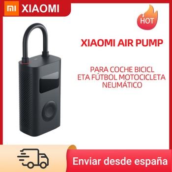 Original Xiaomi Air Pump Mini Portable Inflatable Treasure Air Compressor Tire Electric Pump Car Bike Football Motorcycle