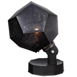Projecteur étoile lampe de nuit 1 ampoule une couleur est jaune lampe de Projection pour chambre de bébé, cadeau de noël [classe énergétique A +]