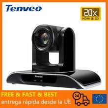 [Estoque da ue] livre de impostos vhd203u 1080p60fps sistema de videoconferência ptz hdmi câmera 20x zoom sdi saída conferência para grandes salas
