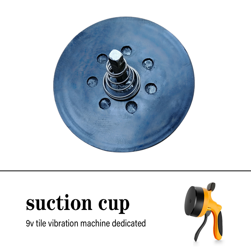 9v Tile Vibration Machine Suction Cup Yellow Leveling Machine Original Standard Accessories