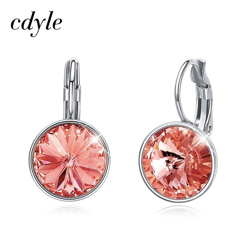 Mother/'s Day MOM Gift Butterfly Crystal Ear Earrings Stud Women Costume Jewelry