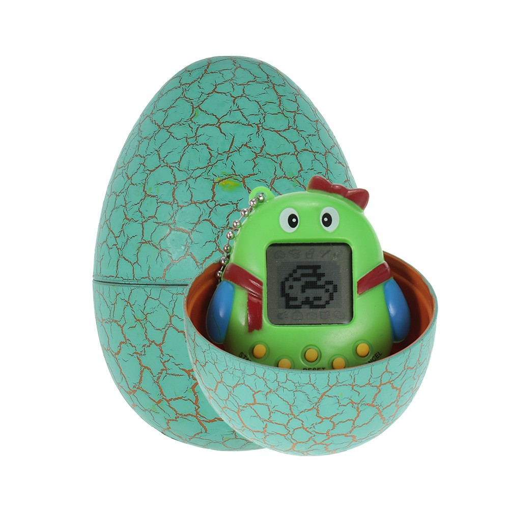 Cartoon Electronic Pet Game Toy Handheld Virtual Pet Keychain Dinosaur Egg Virtual Pets Kids Baby Children Toy Gift
