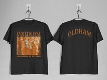 T-shirt de grande taille pour femmes, large, avec des coups de poing, OLDHAM & Hank Williams Jr. BOCEPHUS